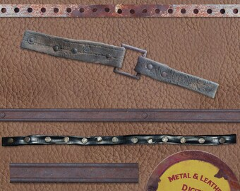 Rustic Metal Digital Elements