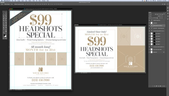 Magazine Ads for Mothers Day Marketing - Template for ID CS4up /& PSD CS6 CC2017 3 Sizes