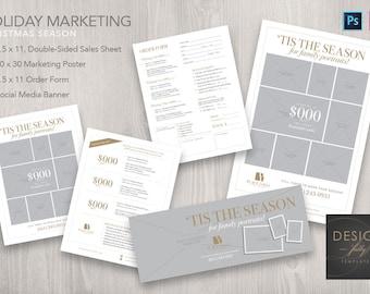 Holiday Marketing Kit - Template for ID & PSD CS4 - CC