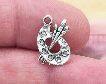 15 Silver Artist Charm Pendant SP0191