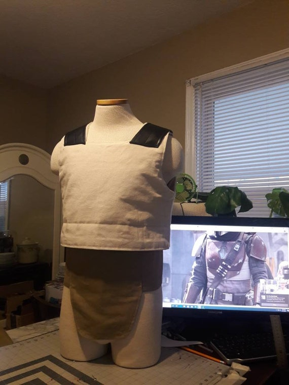 Boba Fett Flak Vest /& Neck Seal Star Wars Mandalorian MMCC compliant.