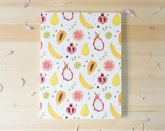 Large notebook, fruity design