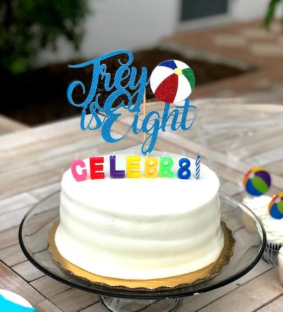 Fine Beach 1St Birthday Cake Topper Beach Ball Cake Topper Beach Etsy Birthday Cards Printable Benkemecafe Filternl