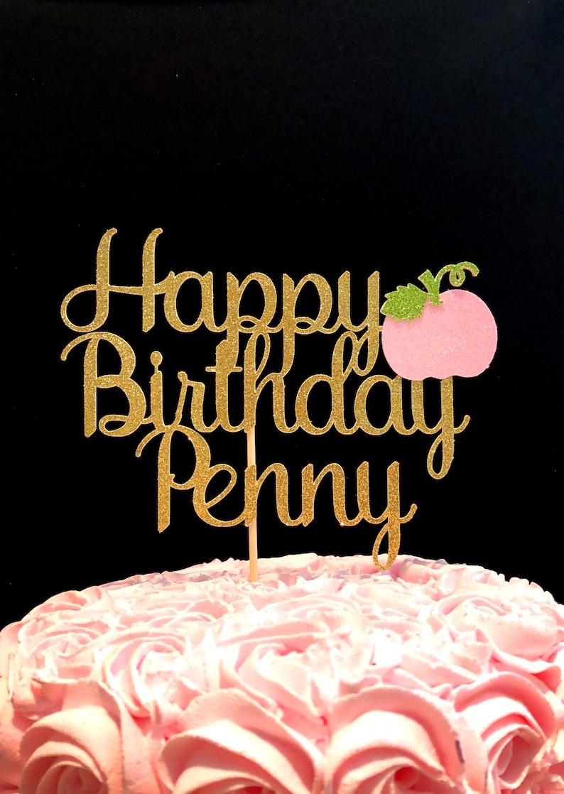 Pumpkin cake topper, pumpkin birthday cake topper, pumpkin birthday, pumpkin birthday party, pumpkin decorations, pumpkin party decorations