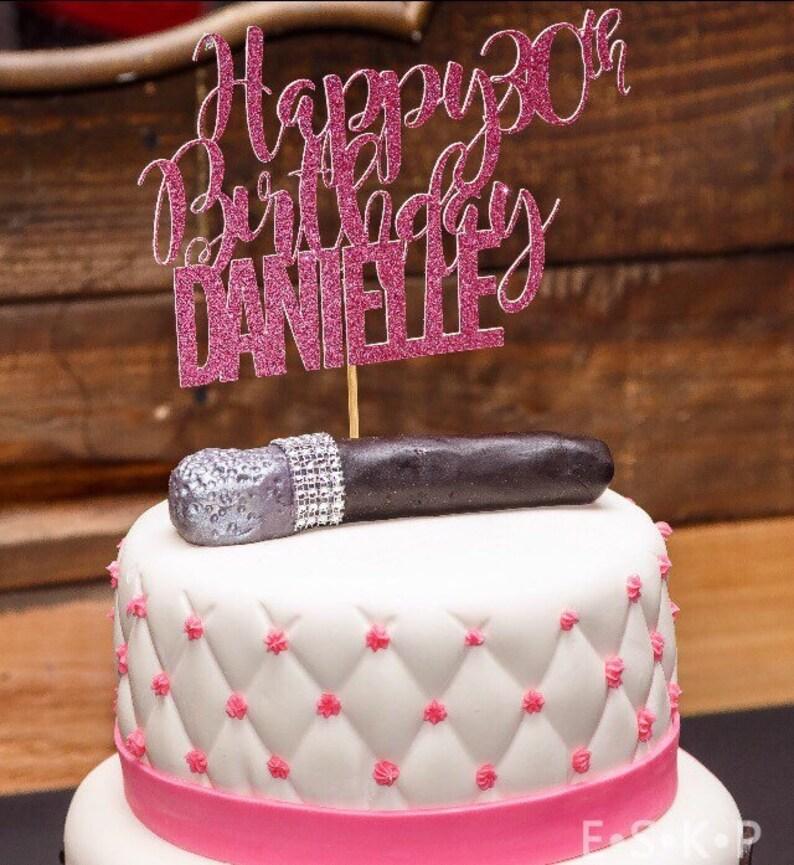 21st Birthday Cake Topper 30th