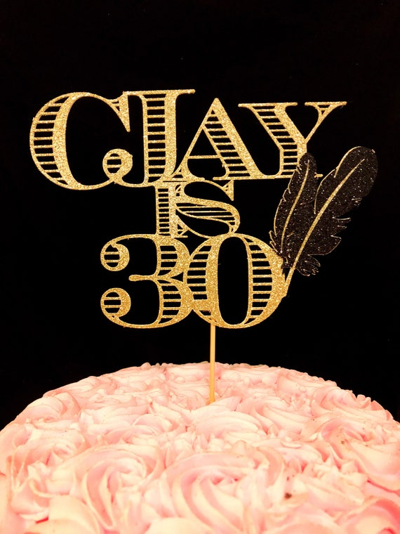 Great Gatsby Cake Topper Great Gatsby Decorations Great Etsy
