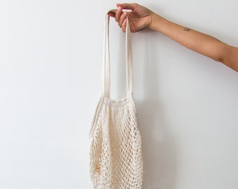 Natural Net Market Bag