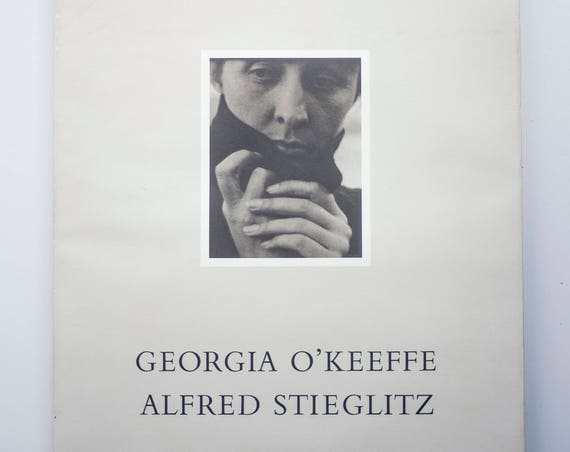 RARE - Georgia O'Keeffe: A Portrait by Alfred Stieglitz - Published by the Metropolitan Museum of Art, 1997