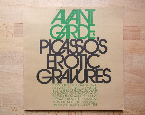 Avant Garde # 8 – Picasso's Erotic Gravures – 1st Edition (1969)