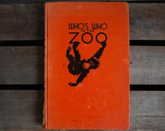 Who's Who In The Zoo - New York - 1939
