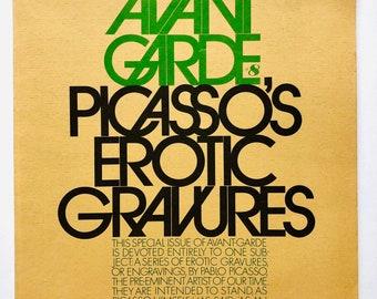 Avant Garde # 8 – Picasso's Erotic Gravures – 1st Edition (1969)