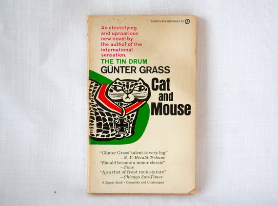 Cat + Mouse by Günter Grass - 1st Edition