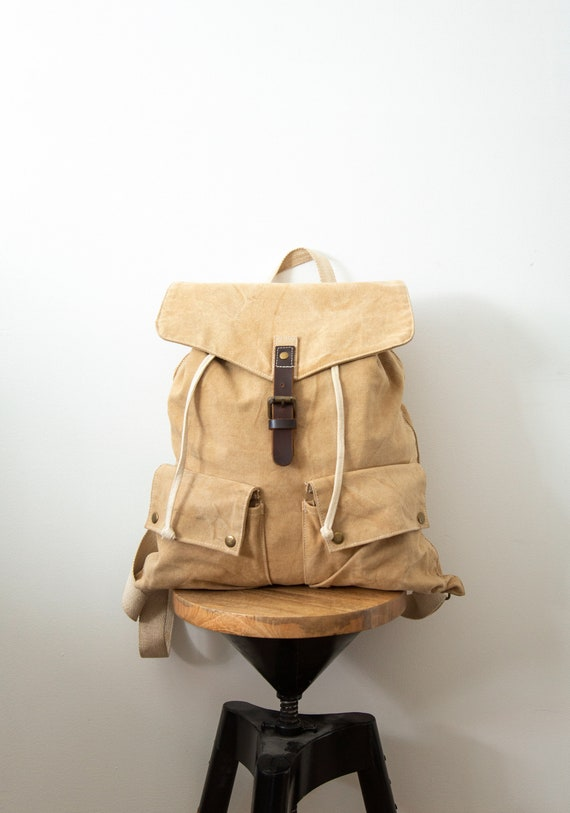 Day Hike Canvas Satchel Backpack