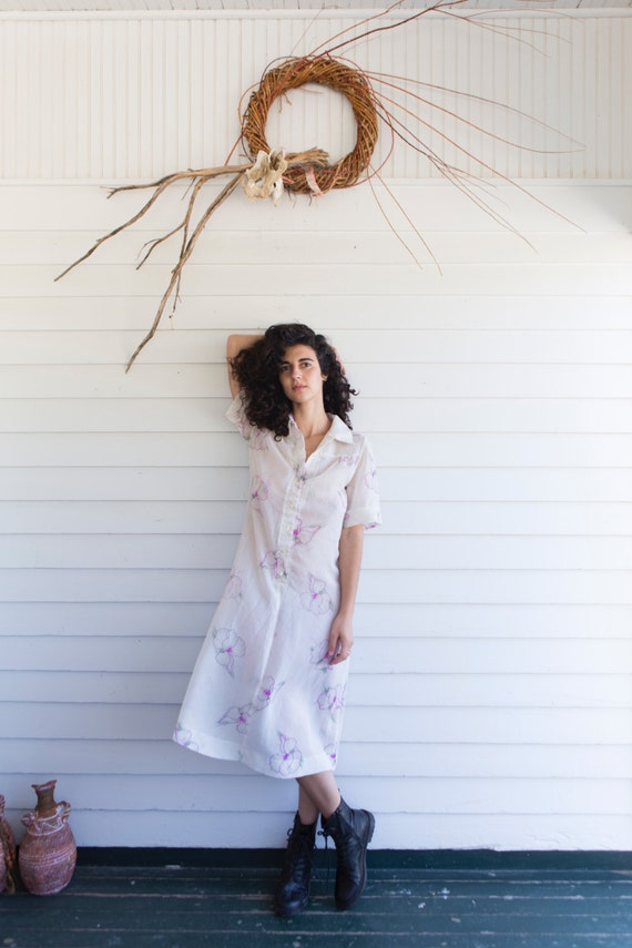 Haunted Geranium Handmade Dress