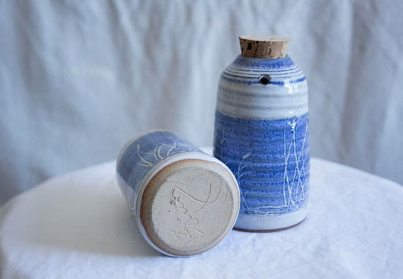Stoneware Oil + Vinegar Vessels