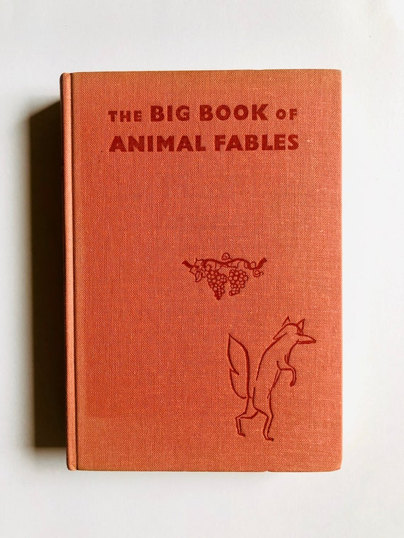 The Big Book of Animal Fables - by Margaret Green & Janusz Grabianski - 1965