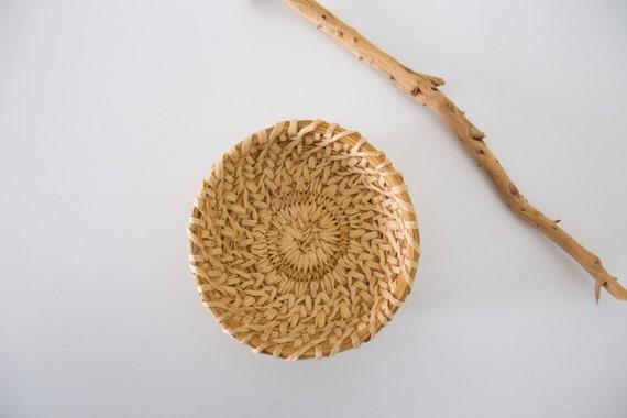 Natural Woven Bowl