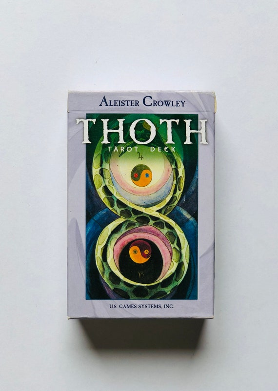 Thoth Tarot Deck - Aleister Crowley