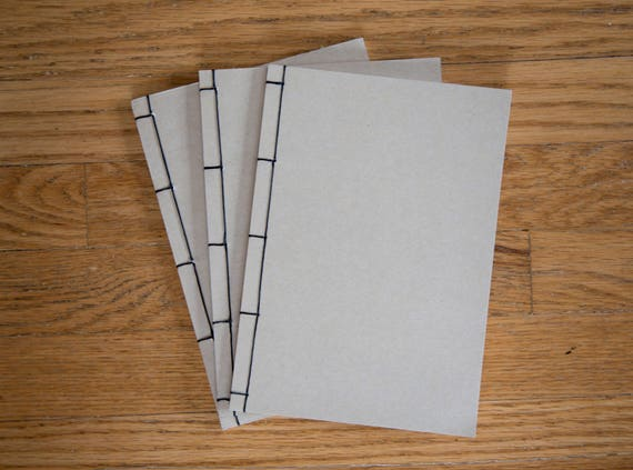 Handmade Japanese Threaded Notebook