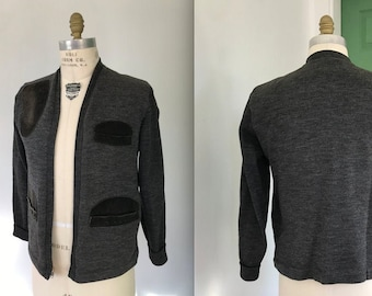 Vintage Mens Hunting Sweater