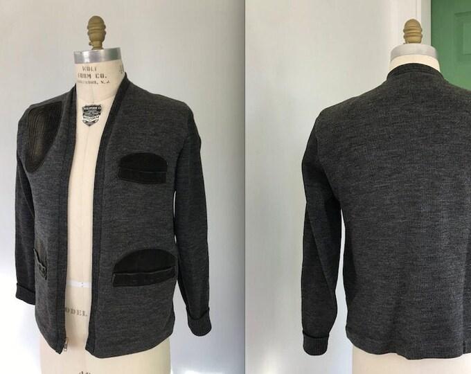 Vintage Mens Hunting Sweater