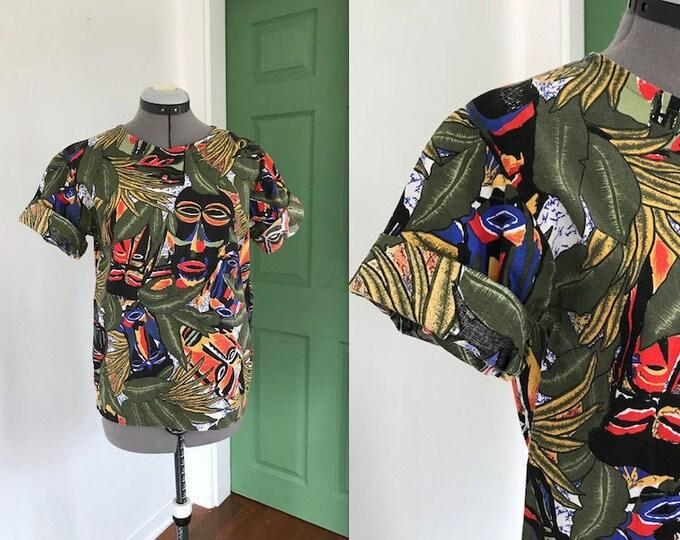 Handmade Vintage Tiki Shirt