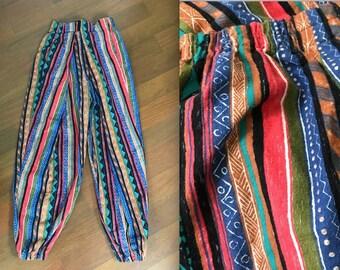 Funky Vintage Velcro Pants