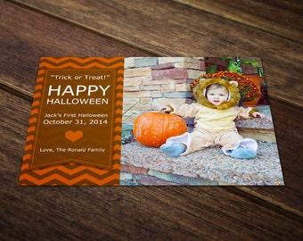 halloween card template holiday card template photoshop etsy