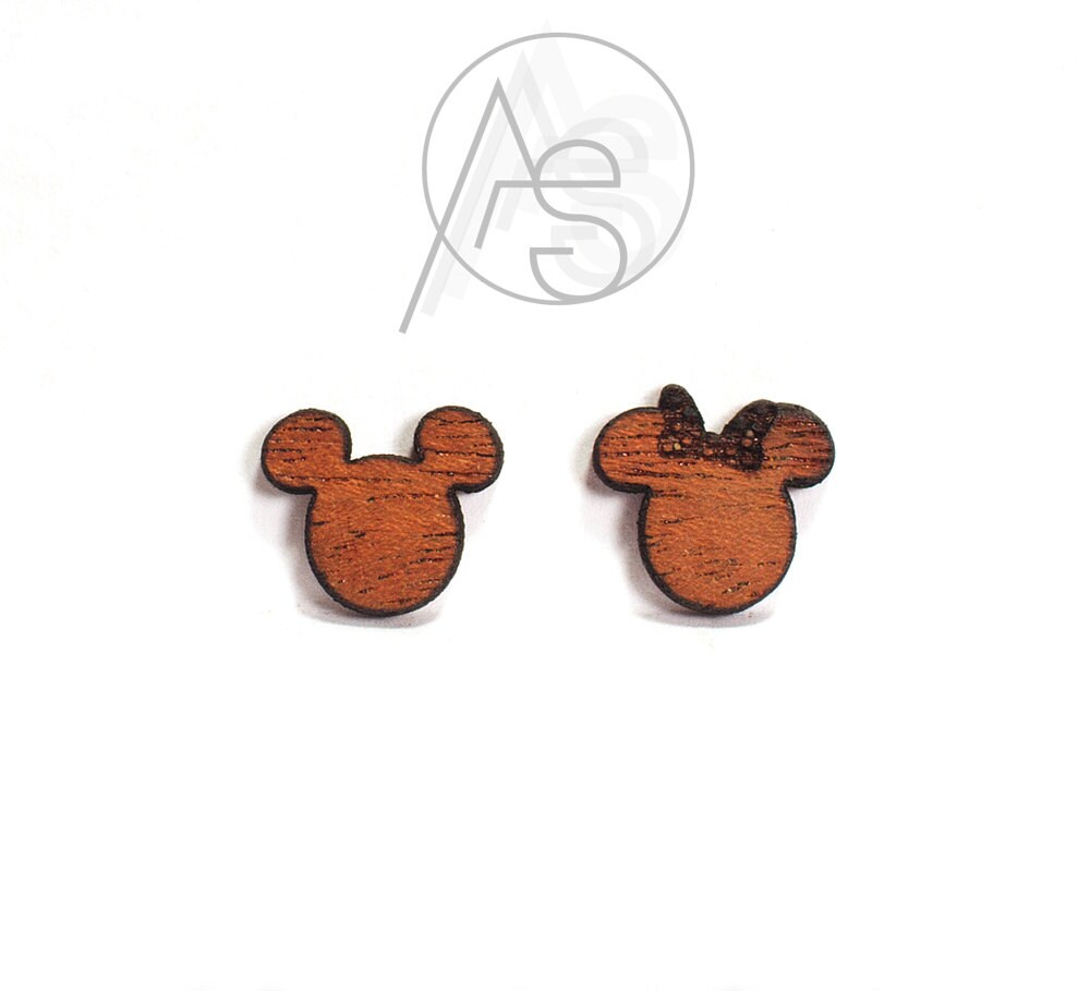 Minnie Maus Ohrringe Mickey Mouse Ohrringe Maus Ohren   Etsy