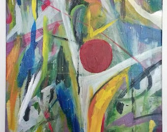 Colorful and Vibrant Abstract Painting