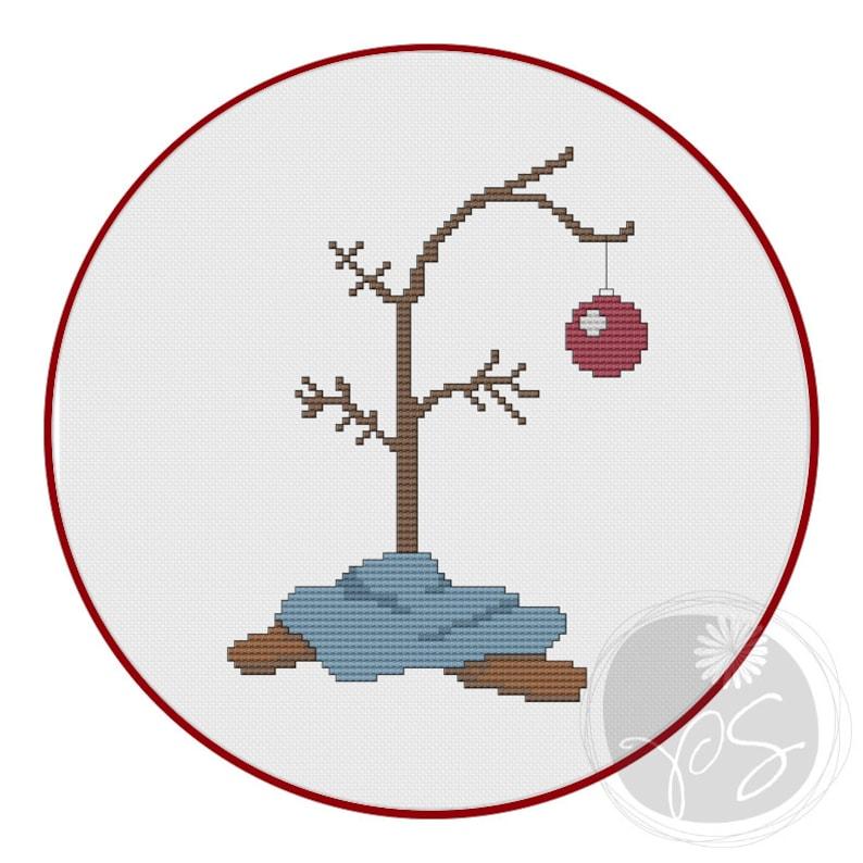 Charlie Brown Christmas Tree Printable PDF Pattern   Etsy