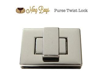 Luggage & Bags Hospitable Metal Clasp Turn Lock Twist Locks For Diy Handbag Shoulder Bag Purse Hardware Accessories