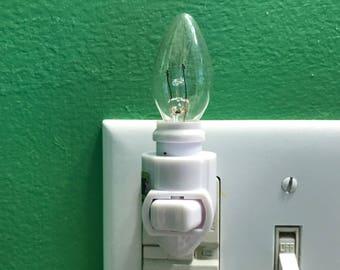 Night Light, base and bulb only