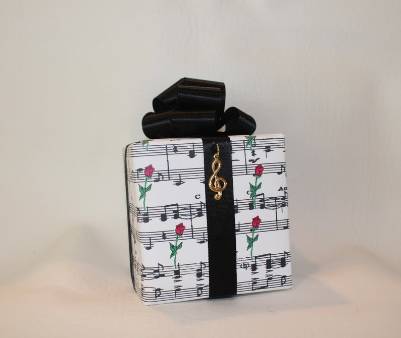 Phantom of the Opera Music box wrapped as a gift image 0