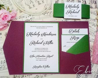 Outdoor Wedding Invitations Etsy