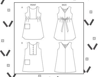 PDF Bennett dress sewing pattern