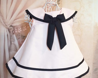 Toddler sailor dress