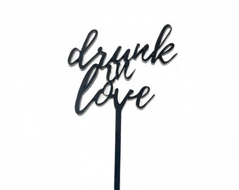 drunk in love Drink Stirrers (6ct)