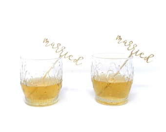 Married Drink Stirrers (2 pieces)