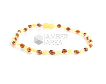 Baby Teething Necklace, Necklace for babies, Amber Necklace, Baltic Amber Necklace, 7697