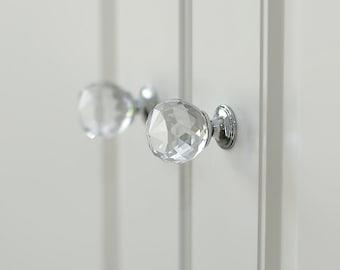 Crystal Glass pulls | Glass handle | Glass door knob 430002
