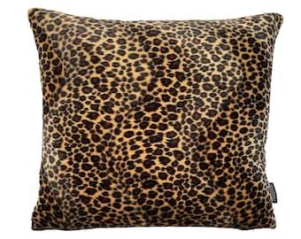 Leopard print pillow | Etsy