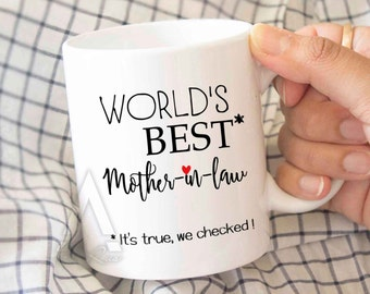Mother In Law Mothers Day Gift For Best Mom Birthday MU379
