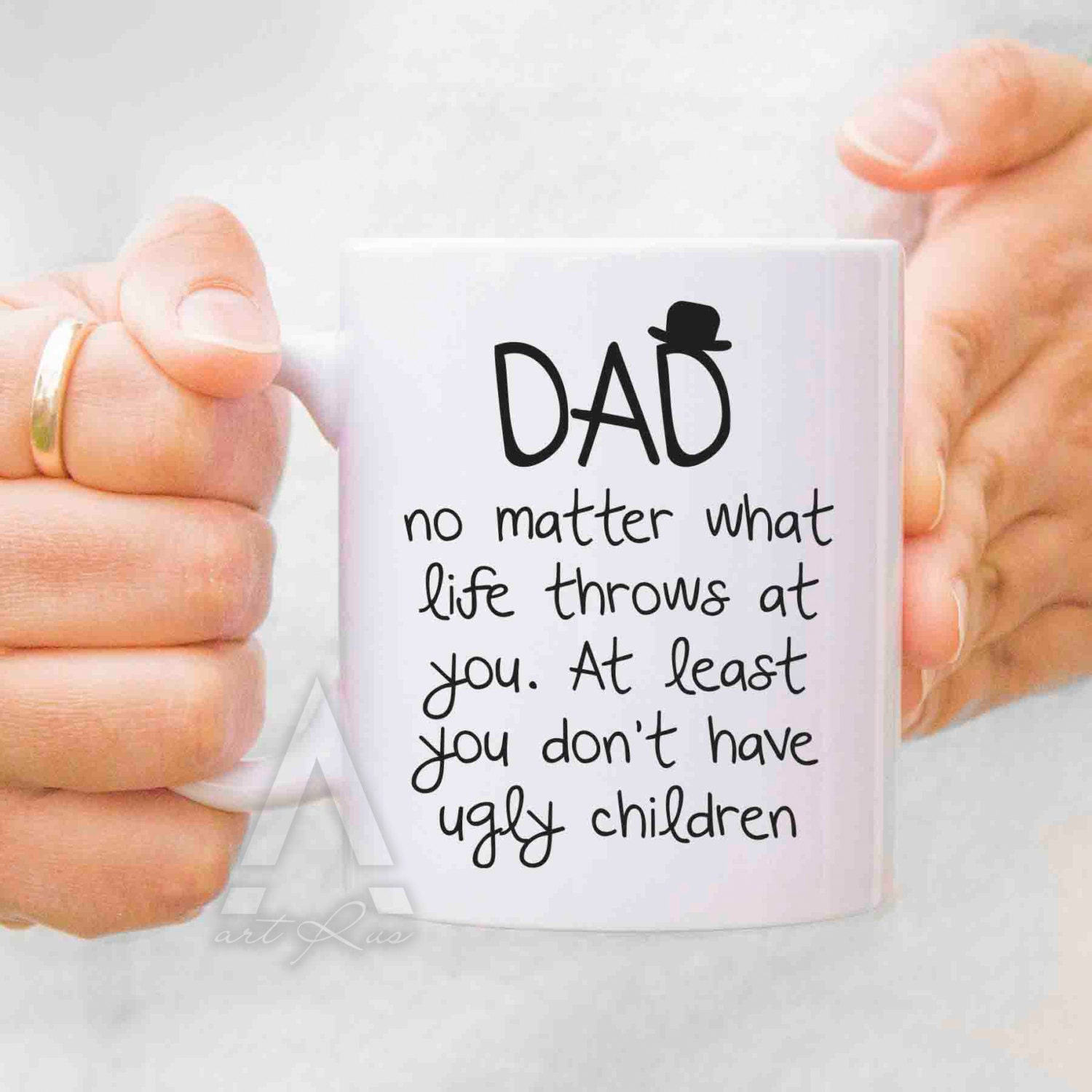 Dad Birthday Gift Dad Christmas Gift From Daughter Dad From