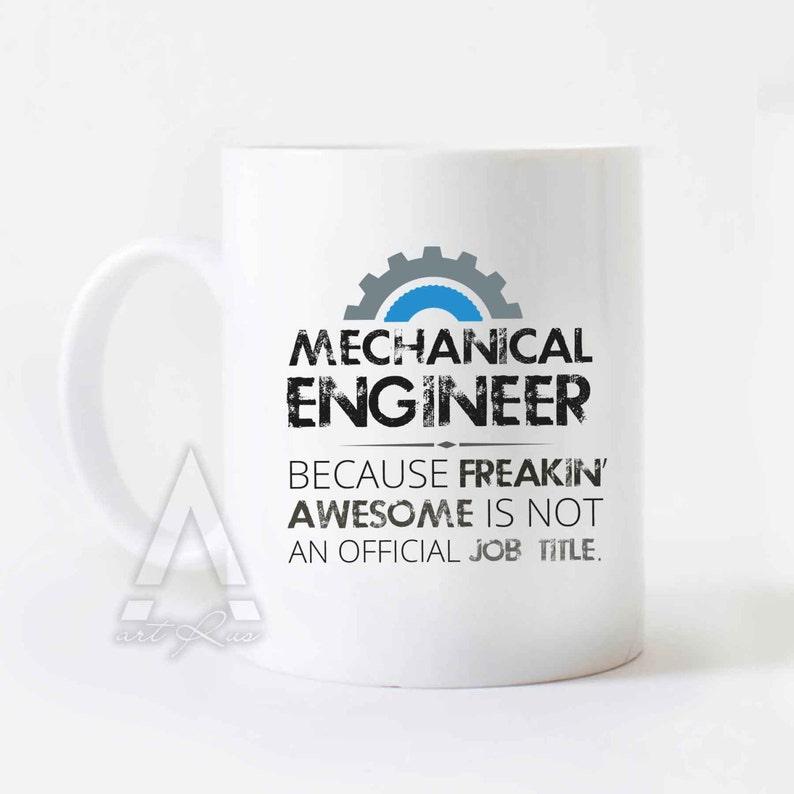 Mechanical Engineer Mug Christmas Gift