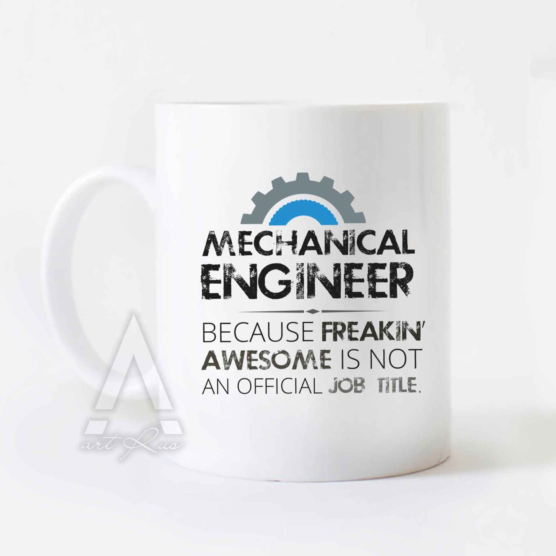Mechanical Engineer Mug Christmas Gift Engineer Mug