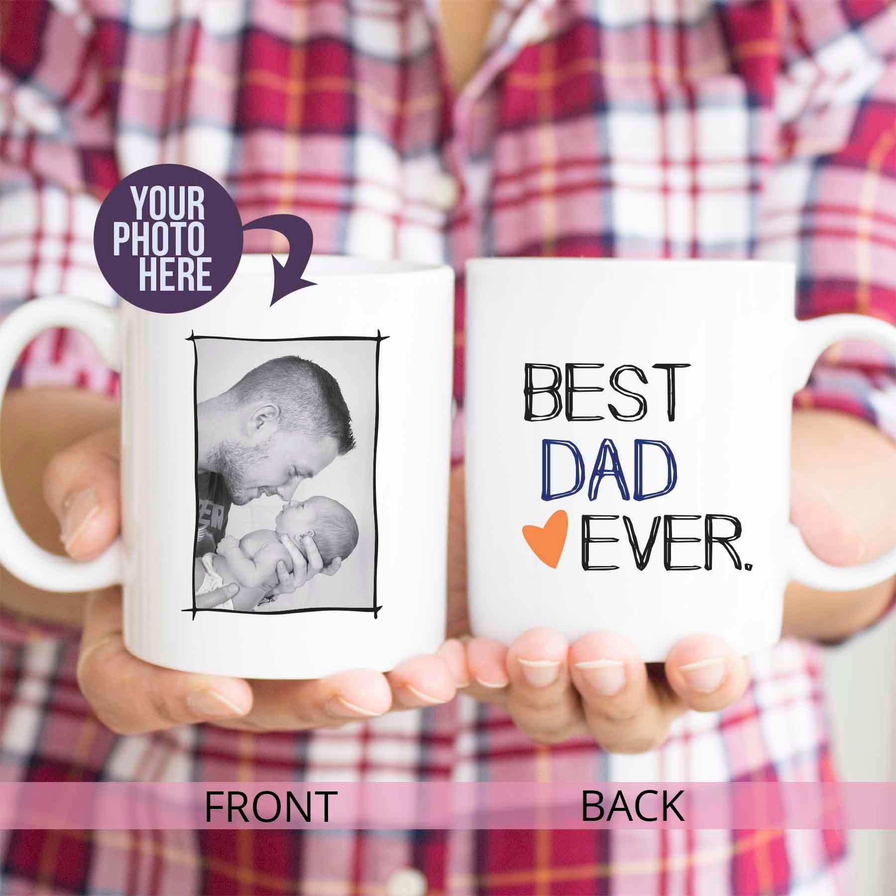 Vatertagsgeschenk von Baby beste Papa immer Papa | Etsy