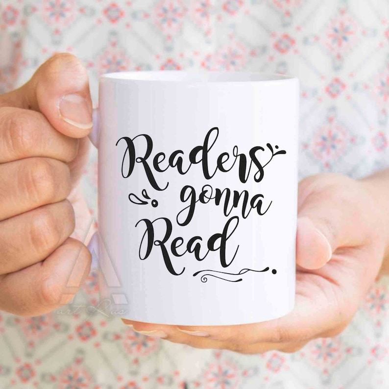 Readers Gonna Read coffee mug Christmas gift for readers image 0