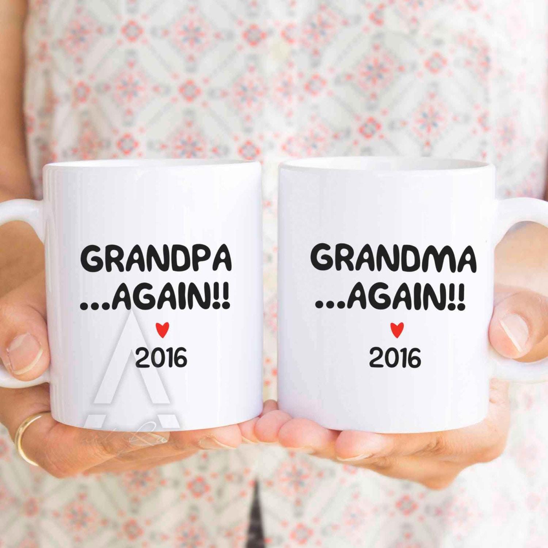 Oma wieder neue Oma oder neue Opa wieder Becher Geschenke | Etsy