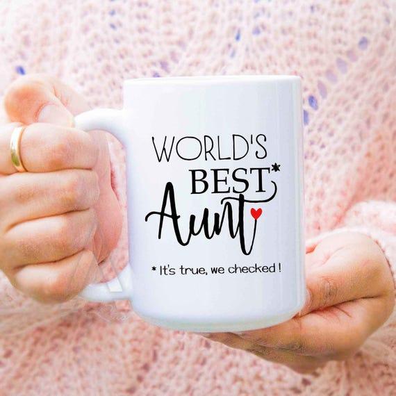 Birthday Gift For Aunt Worlds Best
